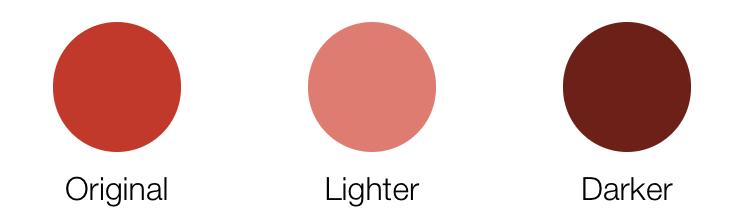 lighten and darken color