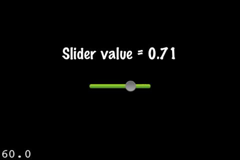 CCControlSlider screenshot