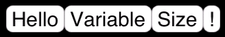 Buttons with a variable size depending on the size of their title